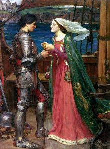King-Arthur-John_william_waterhouse_tristan_and_isolde_with_