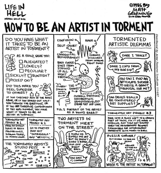 Tormented Artist