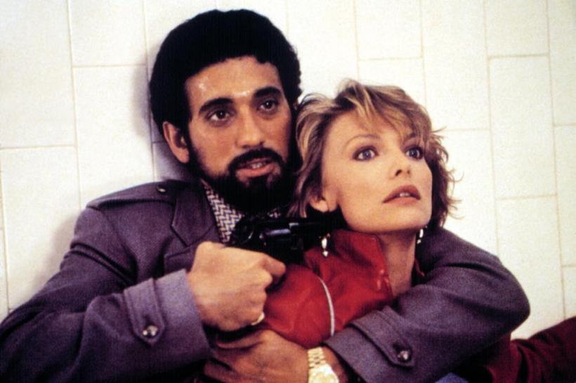 INTO THE NIGHT, Michael Zand, Michelle Pfeiffer, 1985