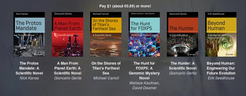 Tanti libri per pochi soldi: la collana di fantascienza della Springer