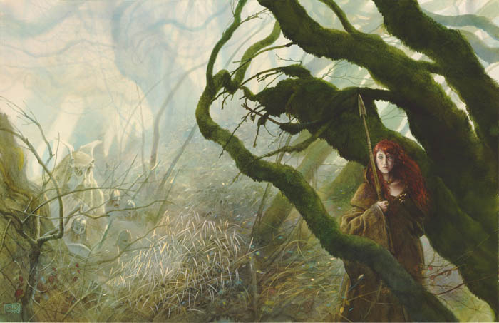 John-Howe-Mythago-Wood