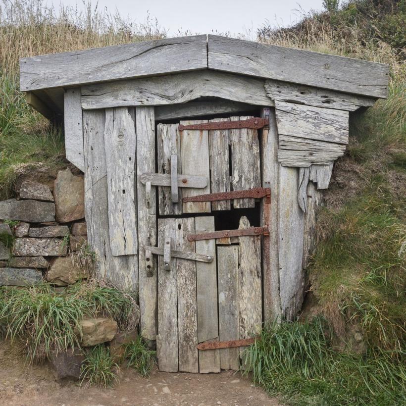 Hawker's Hut, where clergyman Robert Stephen Hawker (1803 –