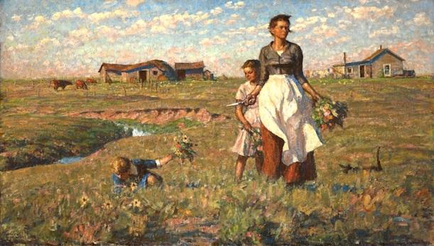 The-Prairie-is-My-Garden-Harvey-Dunn-painter