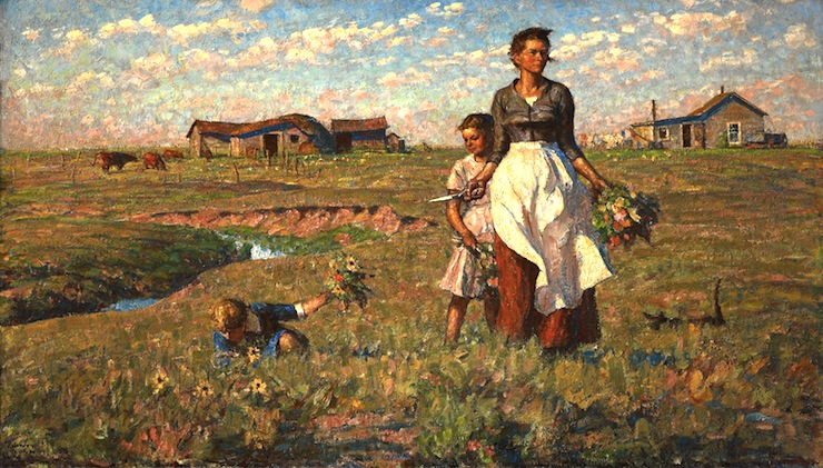 The-Prairie-is-My-Garden-Harvey-Dunn-painter